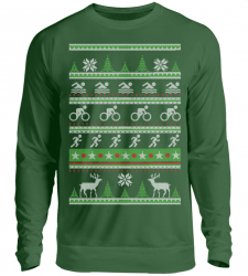Triathlon Ugly Sweater